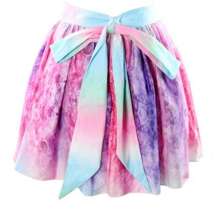 Bow Galaxies Skirt