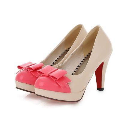 Adorable Bow Knot Fashion Shoes In ..
