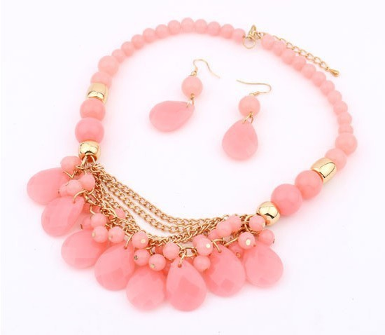 Bead Collar Statement Necklace